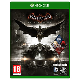 Batman: Arkham Knight - Red Hood Edition - Only at GAME Xbox One Cover Art