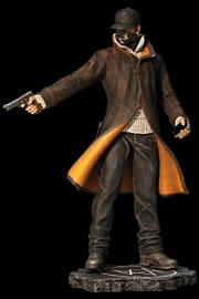 Watch Dogs Aiden Pearce Execution Figurine Toys and Gadgets