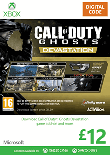 Call of Duty: Ghosts - Devastation Xbox Live Cover Art