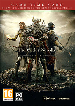 The Elder Scrolls Online 60 Days Pre-Paid Time Card PC