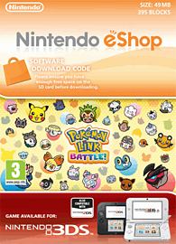 Pokémon Link: Battle! eShop Cover Art