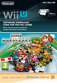 Super Mario Kart eShop Cover Art