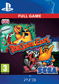 SEGA Vintage Collection: ToeJam & Earl PlayStation Network