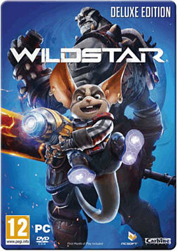 Wildstar Steelbook Deluxe Edition PC-Games Cover Art