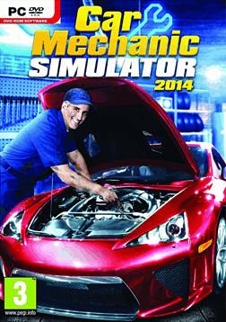 Car Mechanic Simulator 2014 PC Games Cover Art
