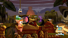 Worms Battlegrounds screen shot 2