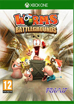 Worms Battlegrounds Xbox One Cover Art