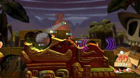 Worms Battlegrounds screen shot 2