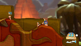 Worms Battlegrounds screen shot 4
