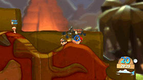 Worms Battlegrounds screen shot 10