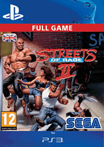 Streets of Rage 2 PlayStation Network