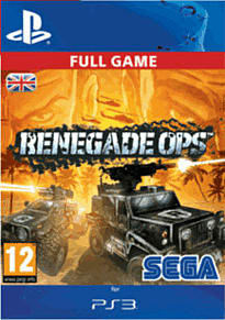 Renegade Ops PlayStation Network