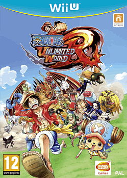 One Piece Unlimited World Red: Straw Hat Edition Wii U Cover Art