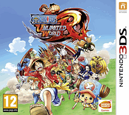 One Piece Unlimited World Red: Straw Hat Edition 3DS Cover Art