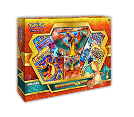Pokémon Charizard-EX Trading Card Box Toys and Gadgets