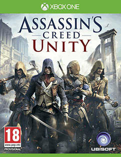 Assassin's Creed: Unity Xbox One Cover Art
