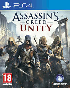 Assassin's Creed: Unity PlayStation 4 Cover Art
