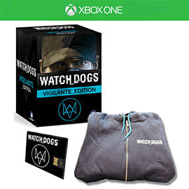 Watch Dogs Vigilante Edition with Downtown Pack.co.uk Xbox-One Cover Art