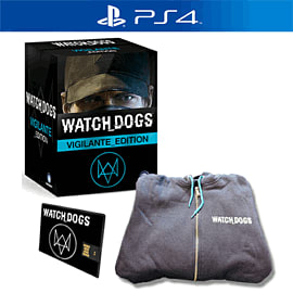 Watch Dogs Vigilante Edition with Downtown Pack.co.uk PlayStation-4 Cover Art