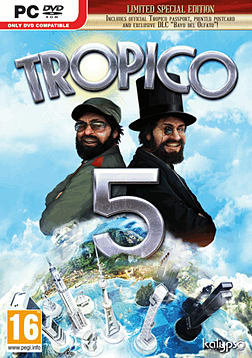 Tropico 5 - Limited Special Edition PC Games Cover Art