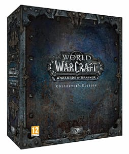 World of Warcraft: Warlords of Draenor Collector's Edition PC-Games Cover Art