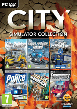 City Simulator Collection PC Games Cover Art