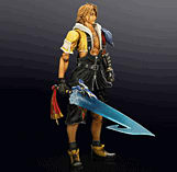 Final Fantasy X HD Remaster Play Arts Kai - Tidus screen shot 1