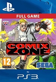 Comix Zone PlayStation Network