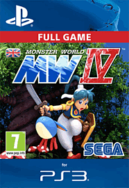 Monster World IV PlayStation Network