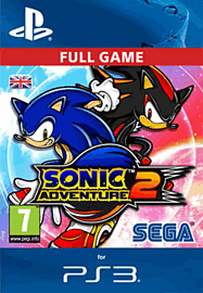 Sonic Adventure 2 PlayStation Network