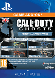 Call of Duty: Ghosts Inferno Personalisation Pack PlayStation Network