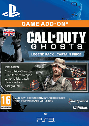 Buy Call of Duty: Ghosts Captain Price Legend Pack on PlayStation