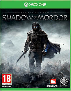 Middle Earth: Shadow of Mordor Xbox One Cover Art
