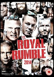 Royal Rumble 2014 DVD