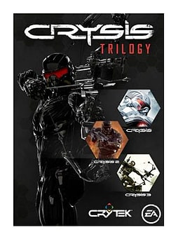 Crysis Trilogy PC Games Cover Art