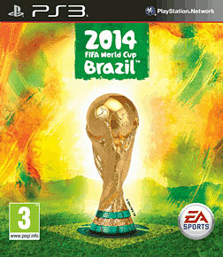 EA SPORTS 2014 FIFA World Cup Brazil PlayStation 3 Cover Art