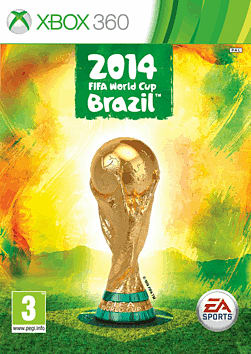 EA SPORTS 2014 FIFA World Cup Brazil Xbox 360 Cover Art