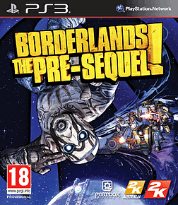 Borderlands: The Pre-Sequel PlayStation 3 Cover Art