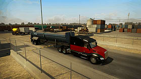 American Truck Simulator screen shot 1