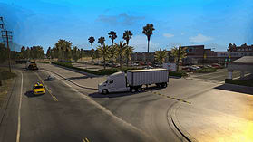 American Truck Simulator screen shot 7