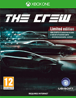 The Crew Limited Edition Xbox One Cover Art