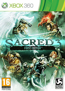 Sacred 3 - First Edition Xbox 360 Cover Art