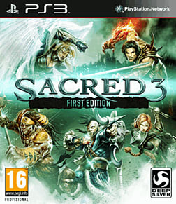 Sacred 3 - First Edition PlayStation 3 Cover Art