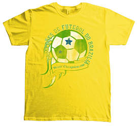 World Cup - Brazil T Shirt S Clothing and Merchandise