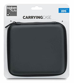 BigBen Black Carry Case for Nintendo 2DS Accessories