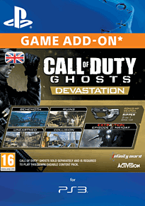 Call of Duty: Ghosts - Devastation (PlayStation 3) PlayStation Network Cover Art