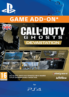 Call of Duty: Ghosts - Devastation (PlayStation 4) PlayStation Network Cover Art
