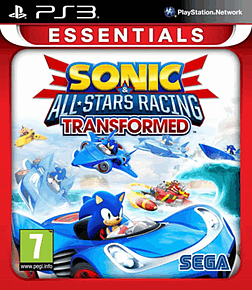 Sonic & All-Stars Racing Transformed (PS3 Essentials) PlayStation 3