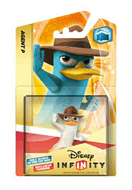 Crystal Agent P - Disney INFINITY Character Toys and Gadgets