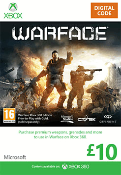 Warface: Xbox 360 Edition Xbox Live Cover Art